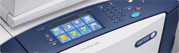 Fonctionnalités pratiques de la série ColorQube 9301/9302/9303