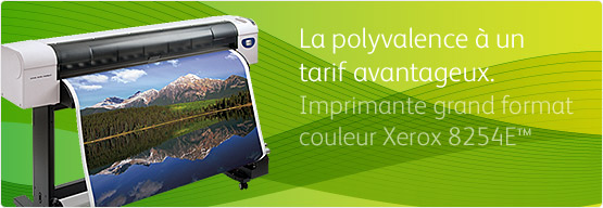 Imprimante grand format couleur Xerox 8254E™